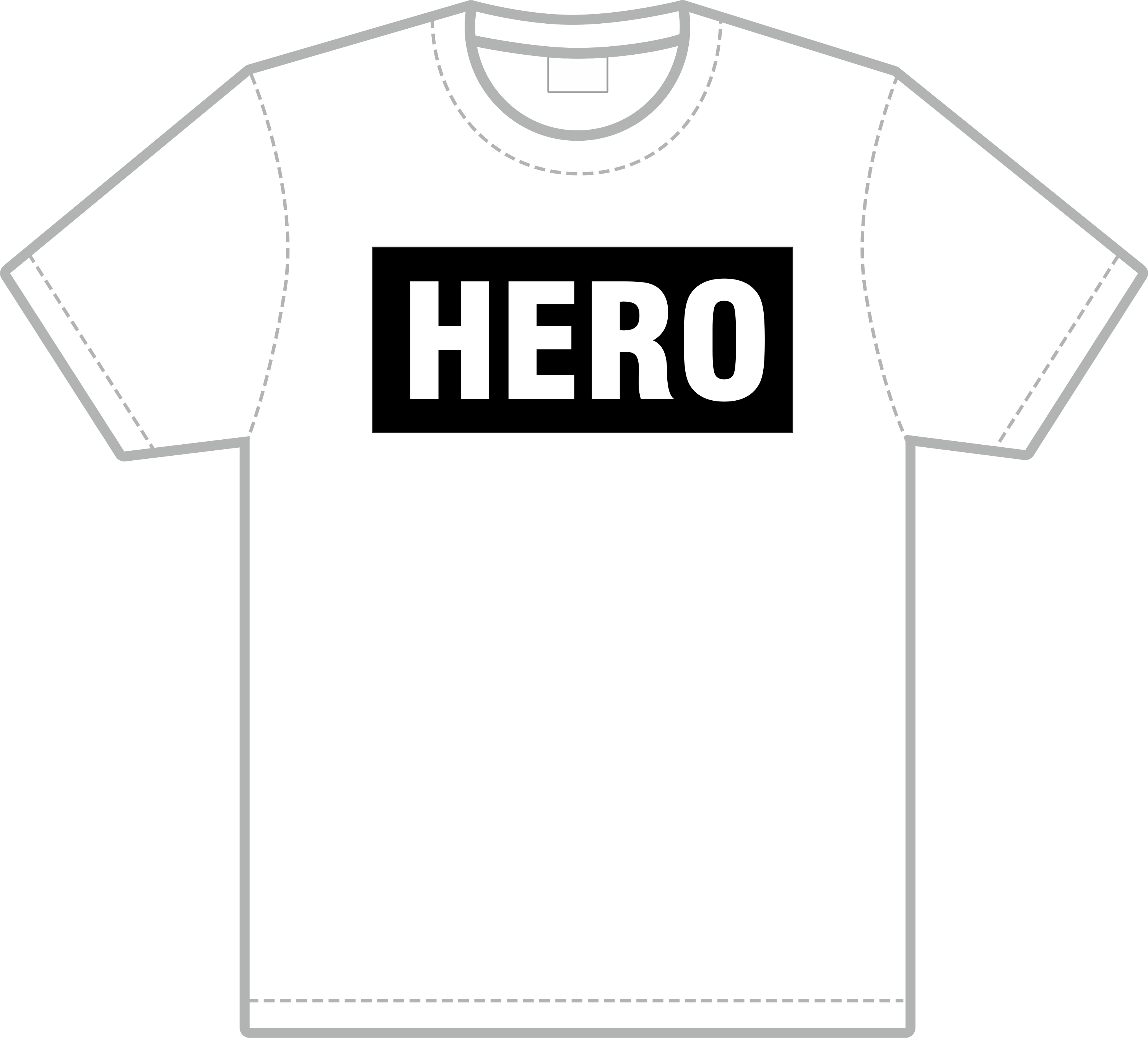 Ronny T Shirt bedrucken HERO