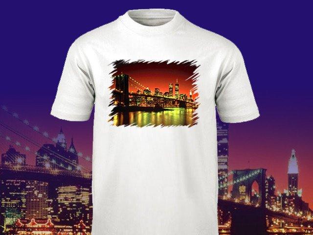 Ronny T Shirt Druck Sublimation und Siebdruck
